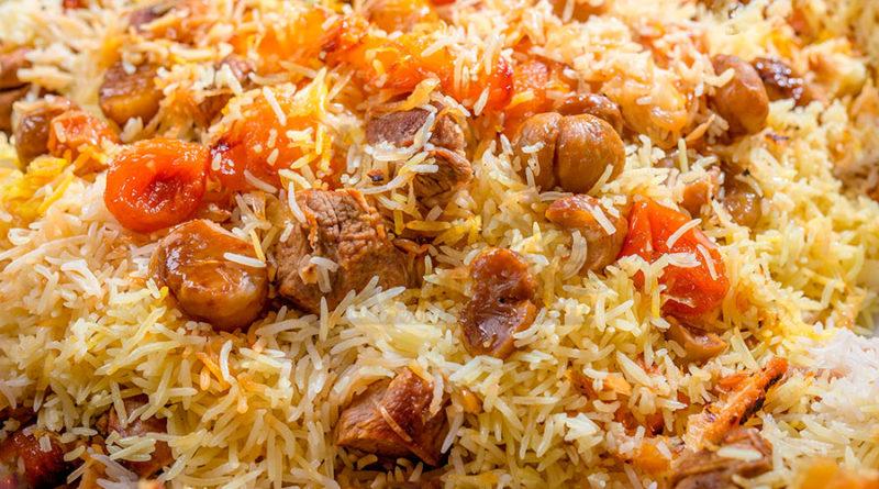 Плов по-азербайджански (с курицей)