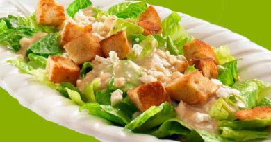 Салат цезарь (классический рецепт)