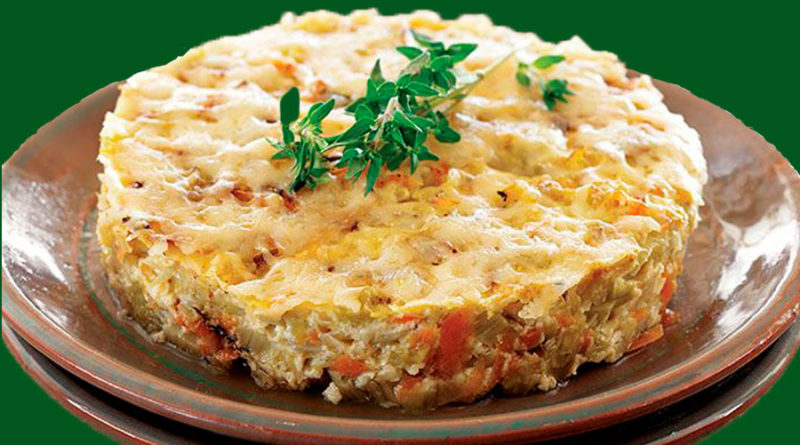 Салат из печени трески с овощами и сметаной