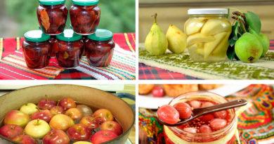 Маринование фруктов Маринование ягод