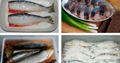 Соление рыбы, Посол рыбы