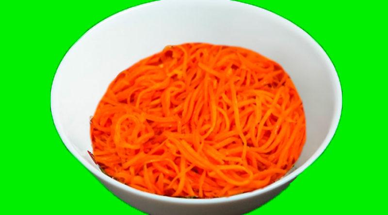 Кисло-сладкая морковь чау
